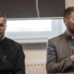 7. Młodzi dla ekumenizmu od lewej ks.M. Gościk (prawosł.) ks. M. Makula