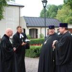 9. od lewej bp. M. Izdebski, bp. P. Hause, abp Abel (prawosł), abp Paicjusz (prawosł)