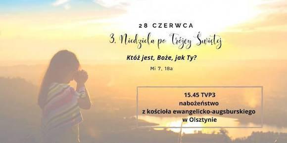 3 po Trójcy Świętej.