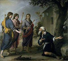 Murillo_Abraham Abraham i trzej aniołowie