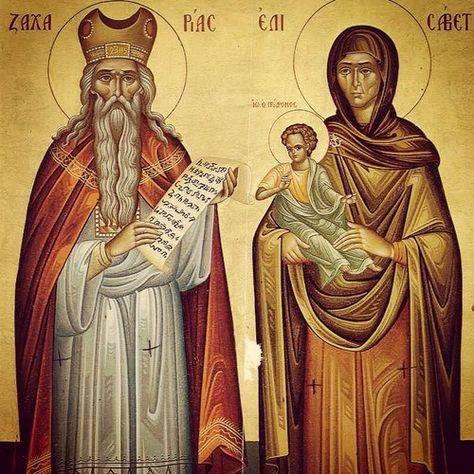 Zachariasz, Elzbieta i J an. źródło pinterest