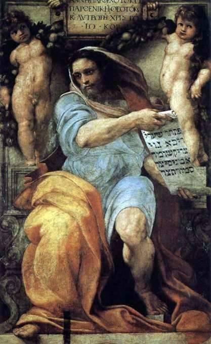 Prorok Izajasz - Rafael Santi