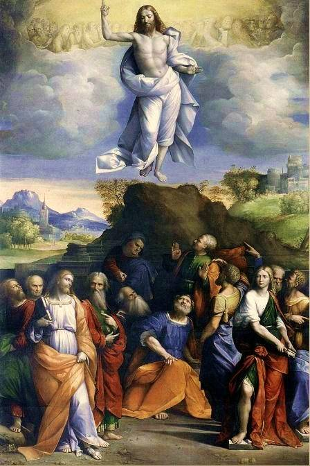 Wniebowstąpienie Pańskie Benvenuto Tisi, 1520