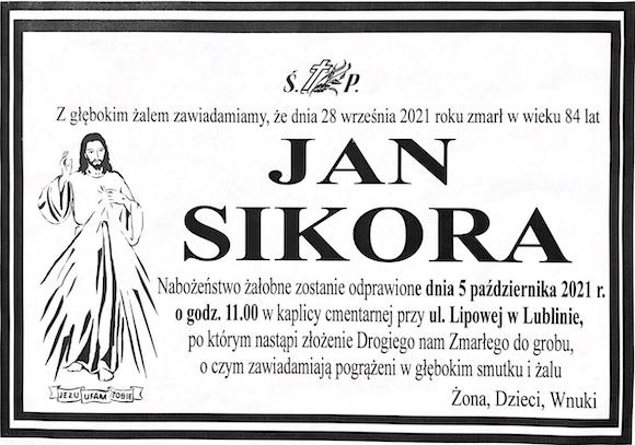 śp. Jan Sikora 1